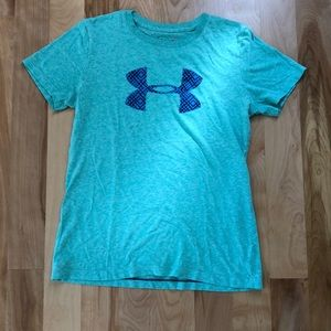 Green Under Armour T-shirt Size Small